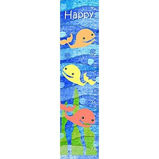 Green Leaf Art Growth Chart, Happy