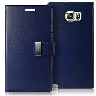 Galaxy NOTE 5 Case, [Drop Protection] GOOSPERY Rich Diary [Wallet Type] Premium Soft Synthetic Leather Case [ID Credit C