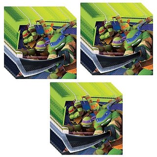Tmnt Teenage Mutant Ninja Turtles Luncheon Napkins - 48 Pieces