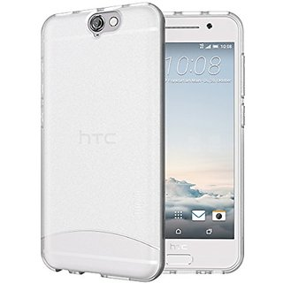 TUDIA Full-Matte ARCH TPU Bumper Protective Case for HTC One A9 (Frosted Clear)