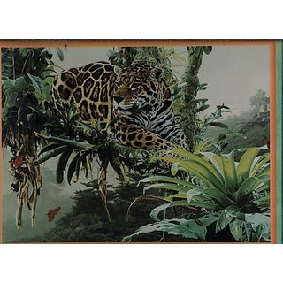 Temple Of The Jaguar By Rod Frederick - Gallery 550 Piece Puzzle