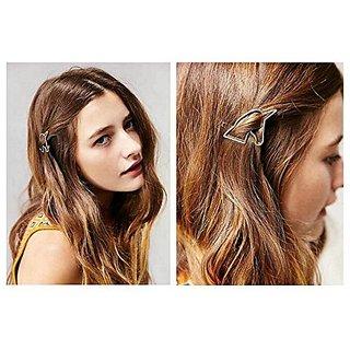 Joyci 1Pcs Womens Unique Unicorn Side Clip Girl Edge Hair Pin Prom Headwear (Gold)