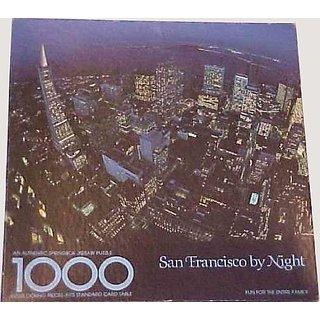 San Francisco By Night - 1000 Piece Puzzle - Springbok Pzl5911