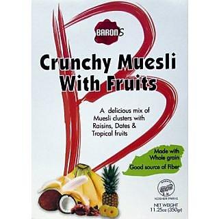 Baron S Crunchy Muesli With Fruits - 11.25 Oz Box