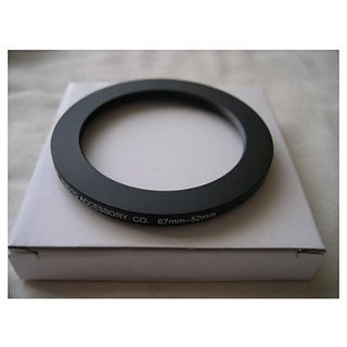 HeavyStar Dedicated Metal Step Down Ring 67-52mm