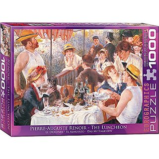 EuroGraphics Luncheon of the Boating Part by Pierre Auguste Renoir 1000 Piece Puzzle