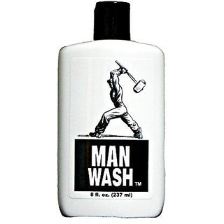 Man Wash - Shampoo and Body Wash for Men