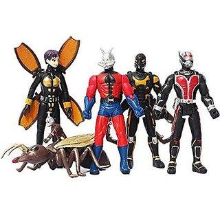 1 Set(5pcs) Ant-man Action Figures Doll 5