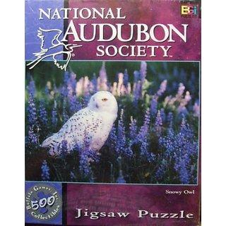Snowy Owl 500 Piece National Audubon Society Puzzle