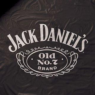 Jack Daniels Vinyl Pool Table Cover