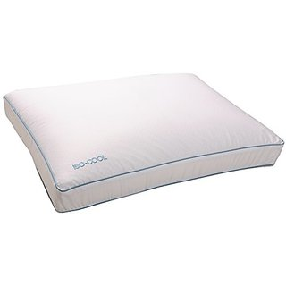 Sleep Better Iso-Cool Memory Foam Pillow, Gusseted Side Sleeper ,Standard