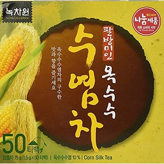 h 100% Organic Oriental TEA selections from Korea Corn silk tea 50T