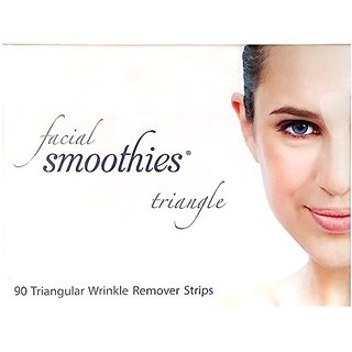 Facial Smoothies TRIANGLE Anti Wrinkle Strips/ Anti-Wrinkle Patches