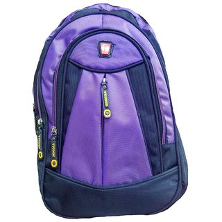 Buy Tycoon Purple Fabric Expandable Casual Backpacks Online - Get 88% Off 41a03e1d1c62d