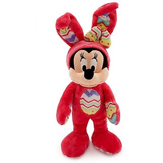 Disney Minnie Mouse Plush Bunny - Medium - 14