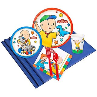 Caillou Party Supplies - Party Pack for 8