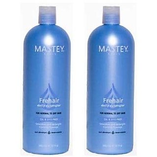Mastey Frehair Daily Conditioner 32oz (Pack of 2)