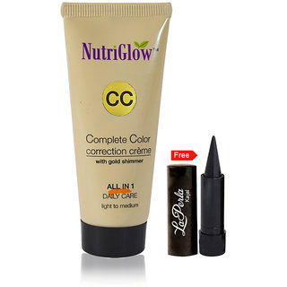 Nutriglow Complete Color Correction Creme With Gold Shimmer (Pack Of 1)