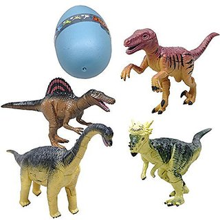 ToyJoy 3D Puzzle Dino Dinosaur Assorted Pachycephalosaurus/ Velociraptors/ Spinosaurus/ Brachiosaurus Construction Kit B