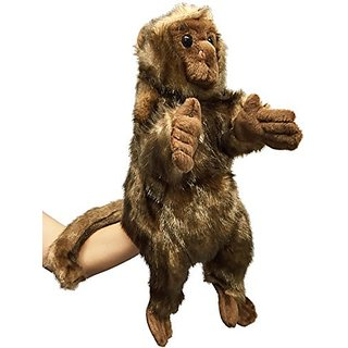 Rittle Furry Monkey, Cute High Quality Plush Hand Puppet - 12