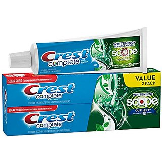 Crest Complete Extra White Plus Scope Outlast Fresh Breath Whitening Toothpaste - 11.6 Ounce