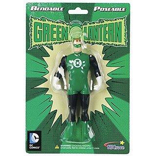 NJ Croce Green Lantern Bendable Figure