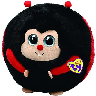 Ty Beanie Ballz Dots The Ladybug (Large)