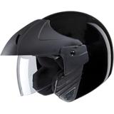 Studds Open Face Helmet- Ninja Concept Black