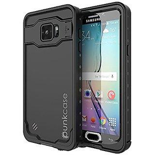 Galaxy Note 5 Waterproof Case, Punkcase StudStar Black Samsung Galaxy Note 5 Thin Fit 6.6ft Underwater IP68 Shockproof D