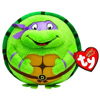 Ty Beanie Ballz Donatello Purple Mask