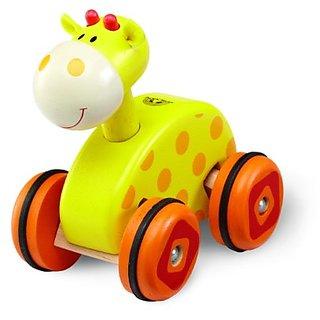 Wonderworld Wheely Giraffe Toy