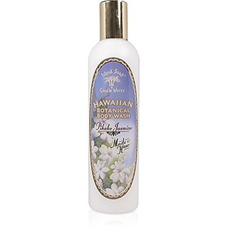 Island Soap & Candle Works Hawaiian Botanical Body Wash Pikake Jasmine