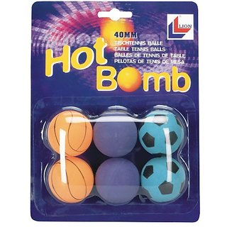Markwort Lion Hot Bomb Table Tennis Balls