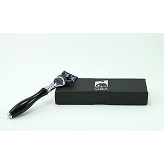 5 Blade Black Razor with Chrome -- From GBS