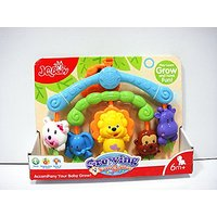 Baby Toy Activity Center - Mobile crib hanging toy full of colorful cartoon shapes for babies