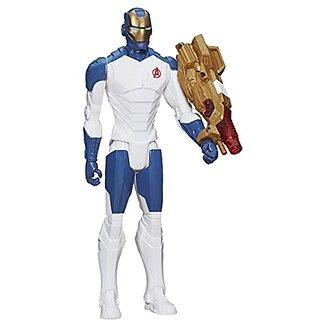 Marvel Avengers Titan Hero Series Beam Blaster Iron Man Figure
