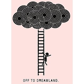 Oopsy Daisy Off to Dreamland Canvas Wall Art, Girl, 10