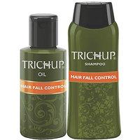 Trichup Hair Fall Control Kit (Hair Fall Control Oil 2 X 200ml), (Hair Fall Control Shampoo 200ml) (PACK OF 3)