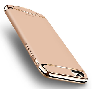 UTV-JOYROOM GOLD CHROME GOLD COLOR LUXURY CASE COVER FOR IPHONE7