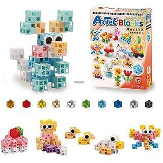 Artec Pastel Blocks Box Set, 112-Piece