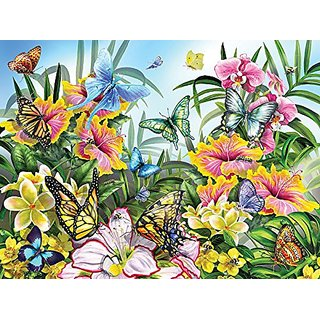 Garden Colors a 1000-Piece Jigsaw Puzzle by Sunsout Inc.
