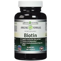 Amazing Nutrition Biotin 10,000 Mcg Supplement - Best V