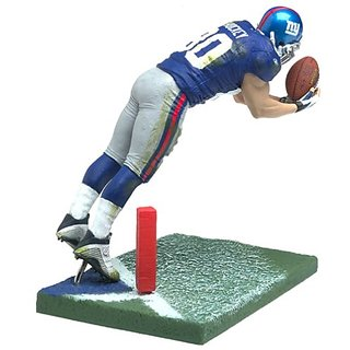 McFarlane Toys NFL Sports Picks Series 7 Action Figure Jeremy Shockey (New York Giants) Blue Jersey