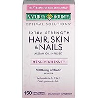 Natures Bounty Optimal Solutions Hair, Skin & Nails Ext