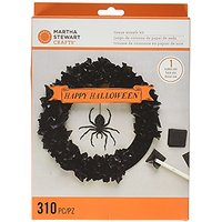 Martha Stewart Crafts Spooky Night Tissue Wreath Kit, 4