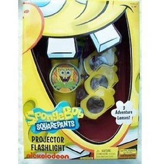 Spongebob Squarepants Projector Flashlight ... 3 Adventure Lenses ... Nickelodeon
