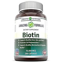 Amazing Nutrition Biotin 10,000 Mcg 200 Capsules - Supp