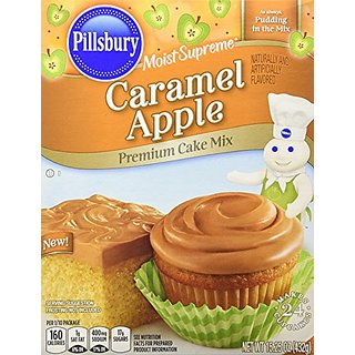 Pillsbury Moist Supreme Caramel Apple Premium Cake Mix (2 boxes, 15.25 Oz.
