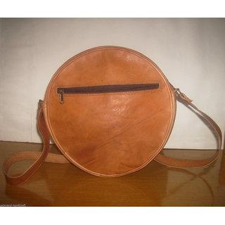 Buy Women Lady Leather Round shape Crossbody Shoulder Bag handbag Satchel  Purse Tote Online - Get 7% Off