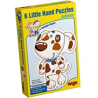 Haba Little Hand Puzzles: Animals (2,3,4 Pc)
